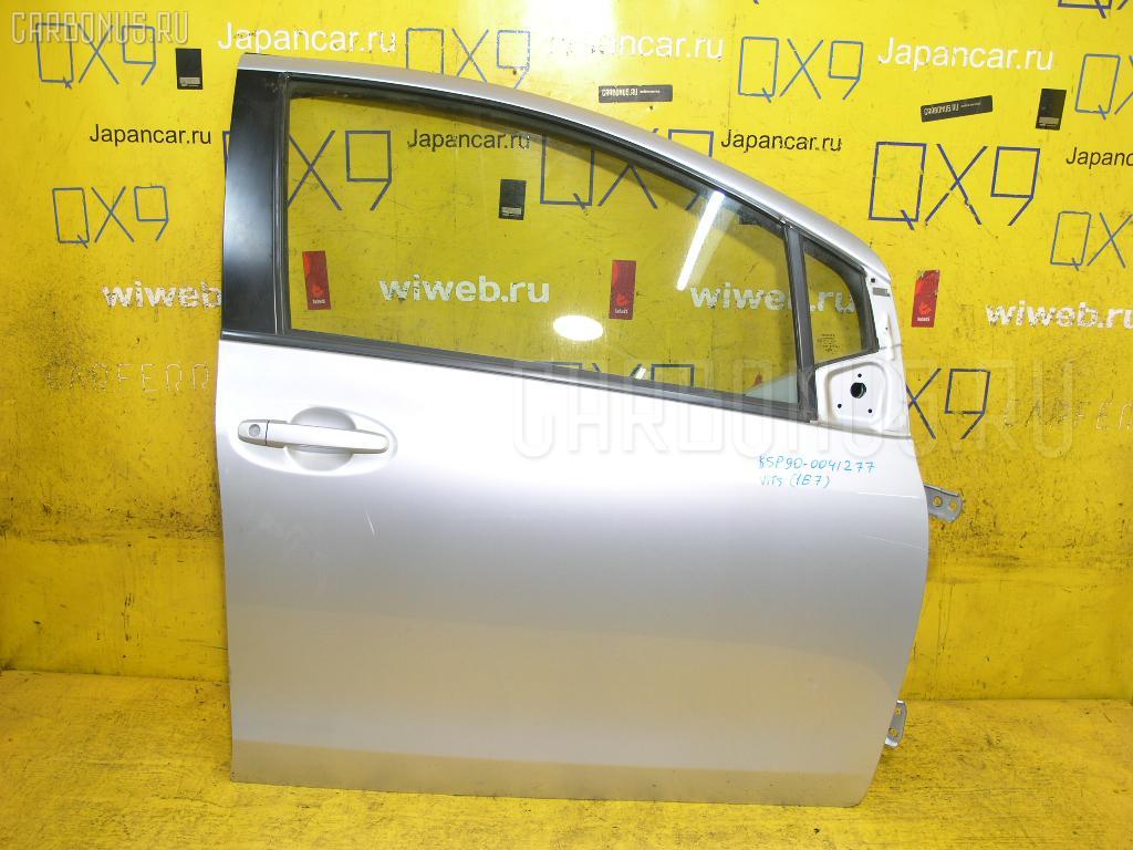 Дверь боковая TOYOTA VITZ KSP90. Фото 6