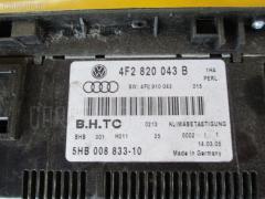 Блок управления климатконтроля Audi A6 Avant 4FBDW BDW WAUZZZ4F46N008188 VAG 4F2820043B1HA