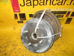 Тормозной барабан на Suzuki Kei HN22S, Заднее расположение