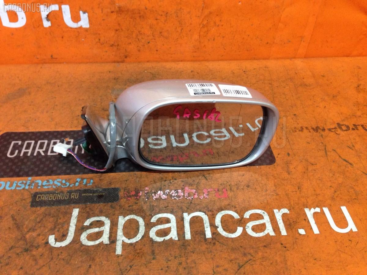 Зеркало двери боковой на Toyota Crown GRS182 Фото 1