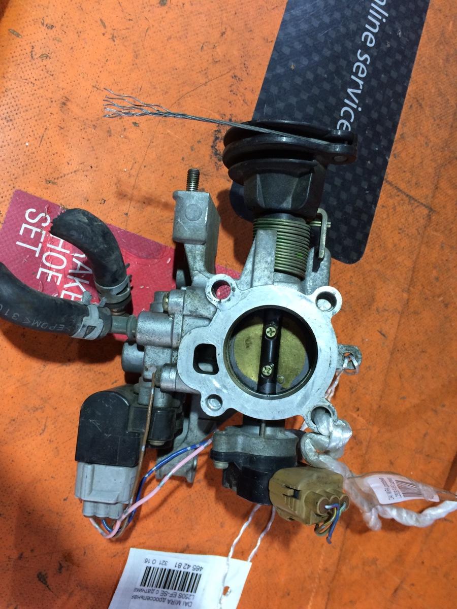 Дроссельная заслонка на Daihatsu Taft L350S EF-DET Фото 1