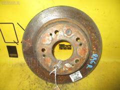 Тормозной диск на Honda Odyssey RA6 F23A, Заднее расположение