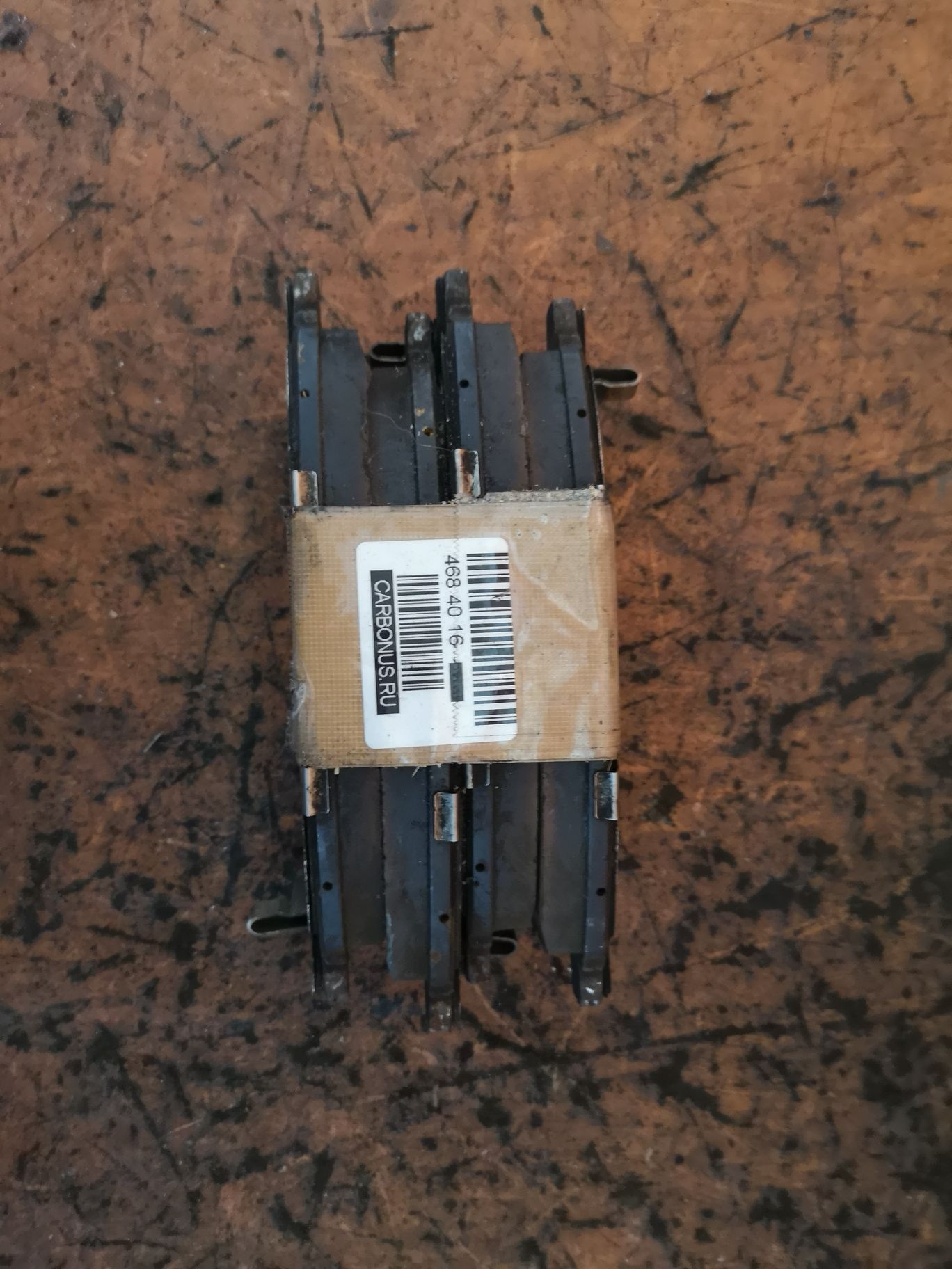 Тормозные колодки на Nissan Presage HU30 VQ30DE Фото 1