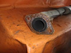 Глушитель на Nissan Laurel HC35 RB20DE Фото 3