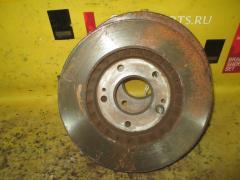 Тормозной диск на Mitsubishi Rvr Sports Gear N64WG 4G64, Переднее расположение