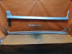 Порог кузова пластиковый ( обвес ) на Nissan Wingroad WFY11