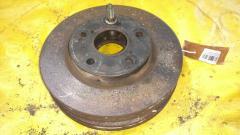 Тормозной диск на Toyota Noah ZRR70W 3ZR-FAE, Переднее расположение