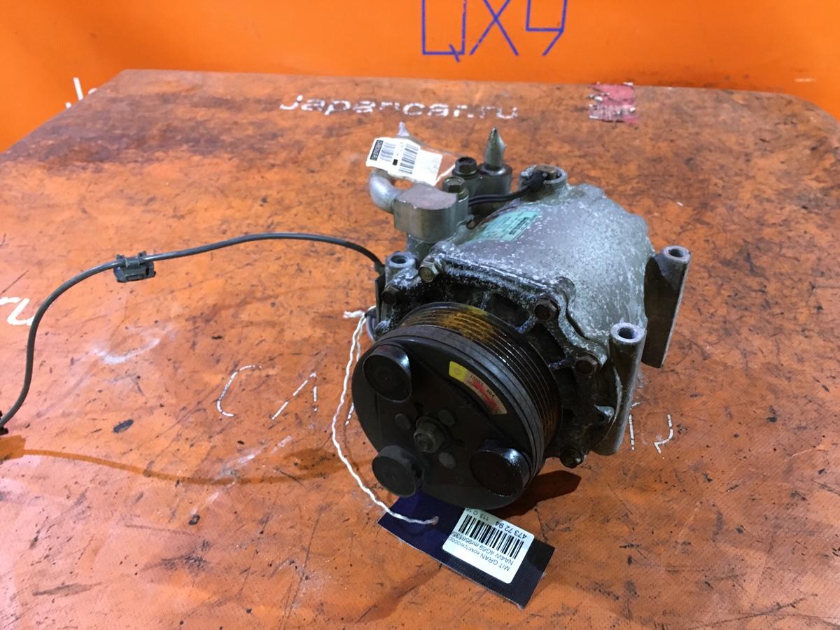 Компрессор кондиционера на Mitsubishi Grandis NA4W 4G69 Фото 1