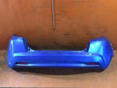 Бампер на Honda Fit GE6, Заднее расположение