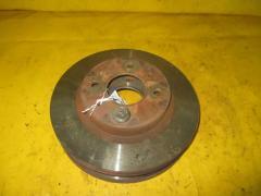Тормозной диск на Nissan Wingroad WHNY10 GA16DE, Переднее расположение