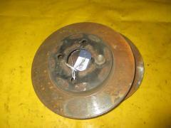Тормозной диск на Nissan Tiida Latio SNC11 HR15DE, Переднее расположение