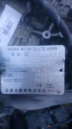 КПП автоматическая на Nissan Note E11 HR15DE