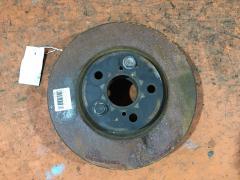 Тормозной диск на Subaru Trezia NSP120X 1NR-FE, Переднее расположение