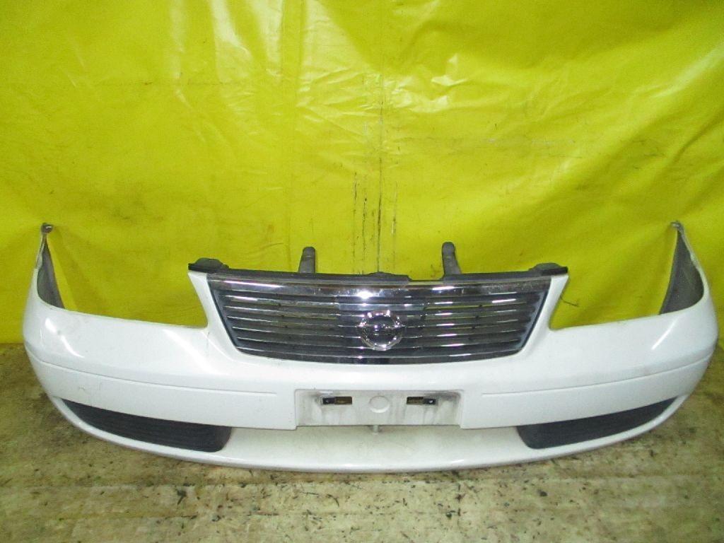 Бампер 62022-8N040 на Nissan Sunny FB15 Фото 1