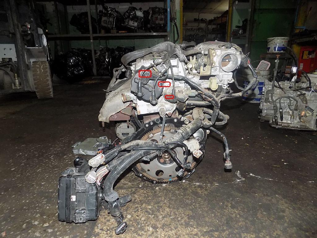 Двигатель на Toyota Carina AT191 7A-FE Фото 1