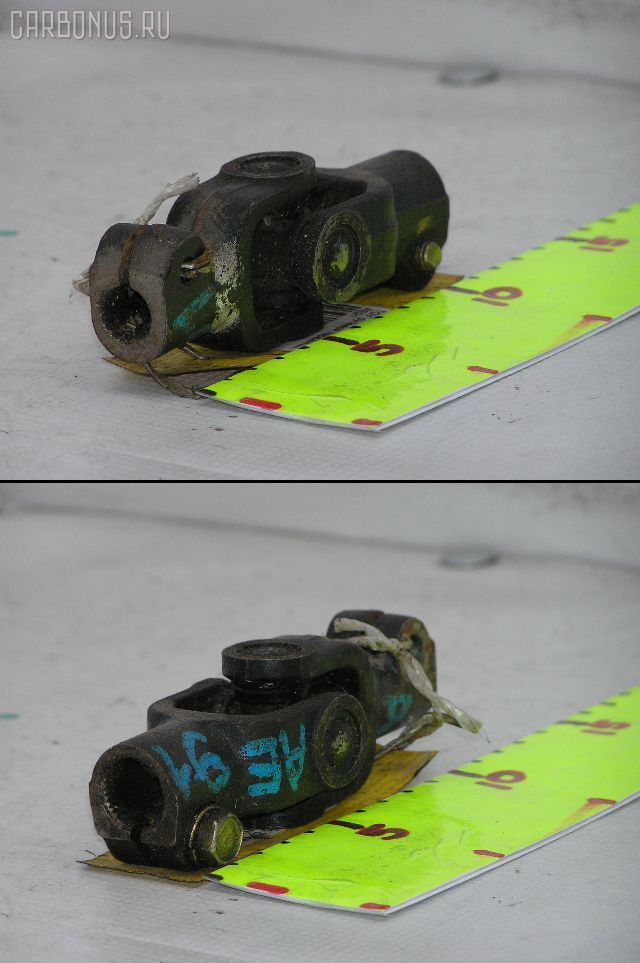 Рулевой карданчик TOYOTA AE91. Фото 7