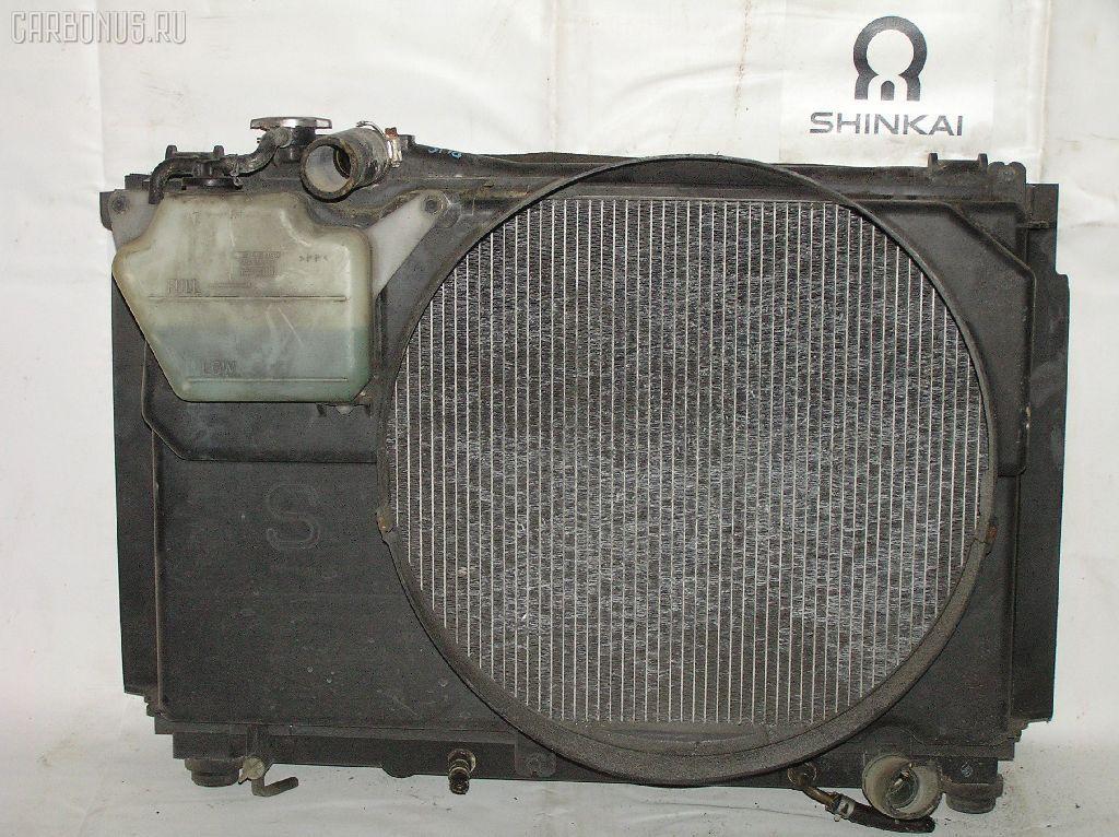 Радиатор ДВС TOYOTA CROWN GS151 1G-FE. Фото 8