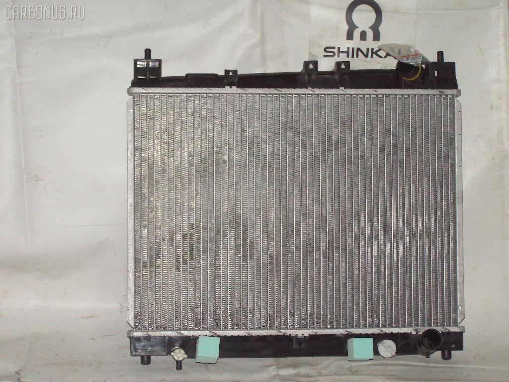 Радиатор ДВС TOYOTA PLATZ NCP12 1NZ-FE. Фото 4