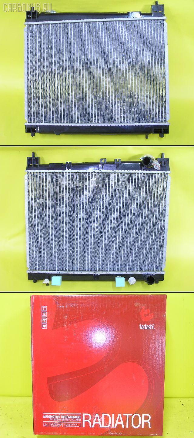 Радиатор ДВС TOYOTA PLATZ NCP12 1NZ-FE. Фото 6