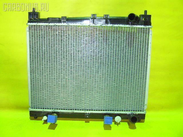 Радиатор ДВС TOYOTA PLATZ NCP12 1NZ-FE. Фото 8