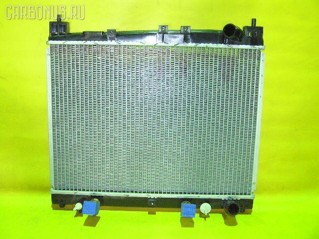 Радиатор ДВС TOYOTA PLATZ NCP12 1NZ-FE. Фото 9