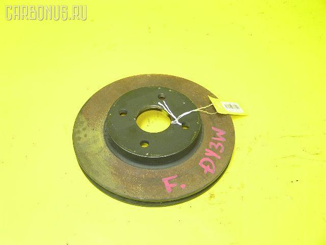Тормозной диск MAZDA DEMIO DY3W. Фото 7