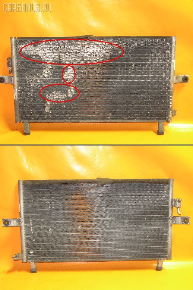 Радиатор кондиционера NISSAN LIBERTY PNM12 SR20DE