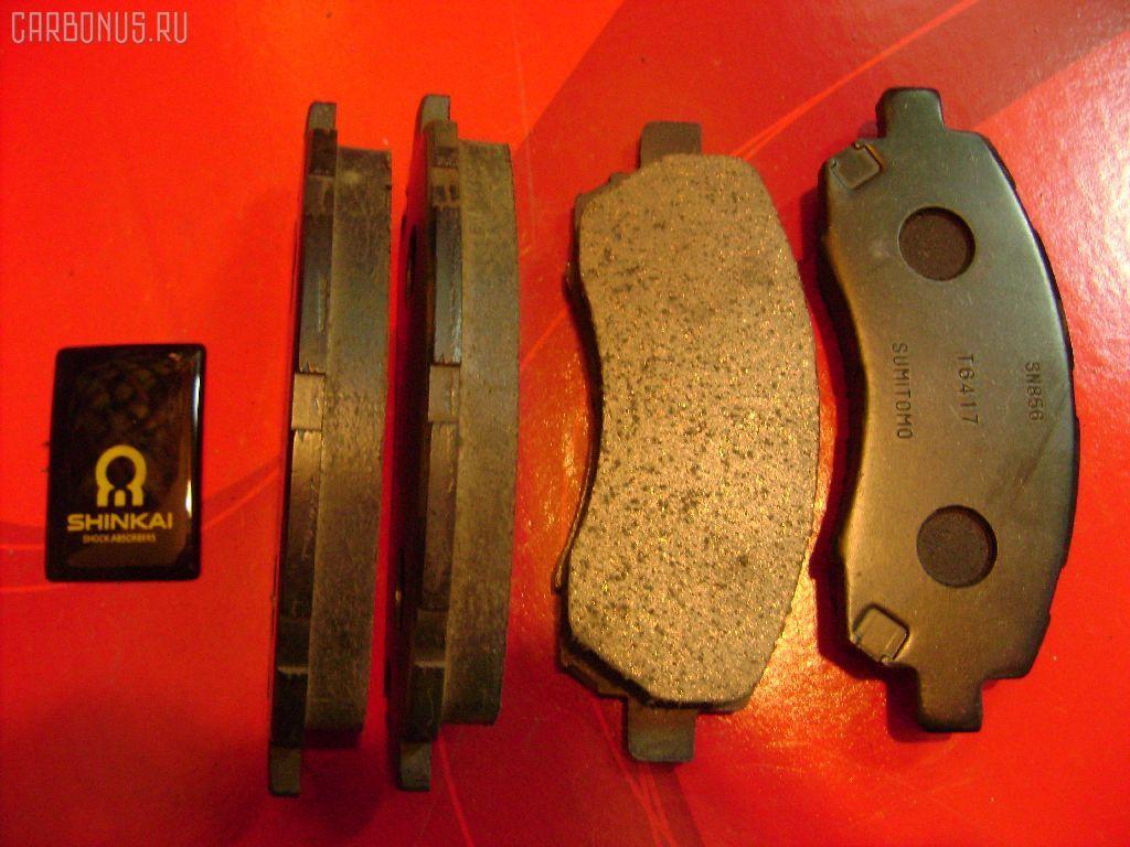 Тормозные колодки SUBARU LEGACY BH5. Фото 4
