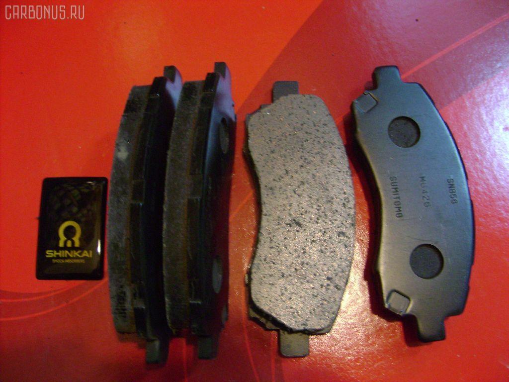 Тормозные колодки SUBARU LEGACY BH5. Фото 5