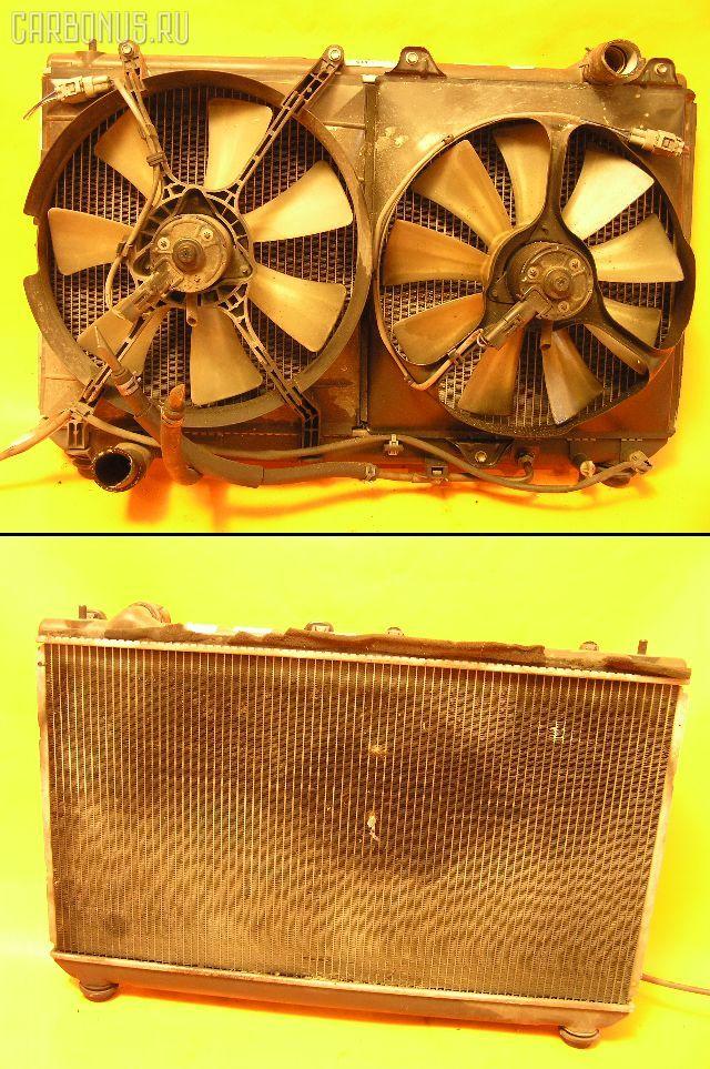 Радиатор ДВС TOYOTA MARK II QUALIS MCV21W 2MZ-FE. Фото 7