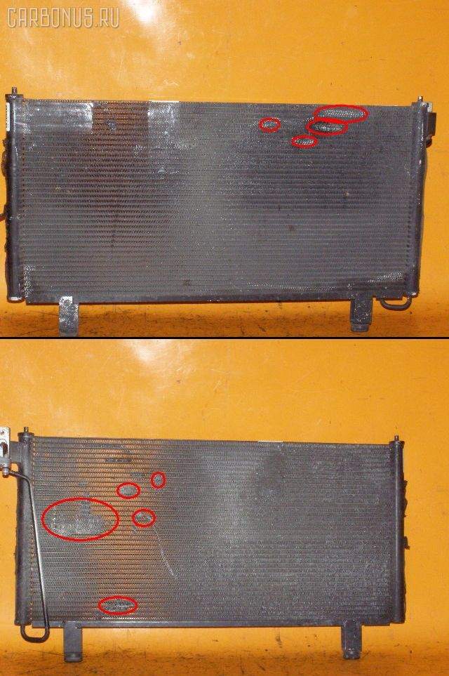 Радиатор кондиционера NISSAN LAUREL HC35 RB20DE. Фото 3