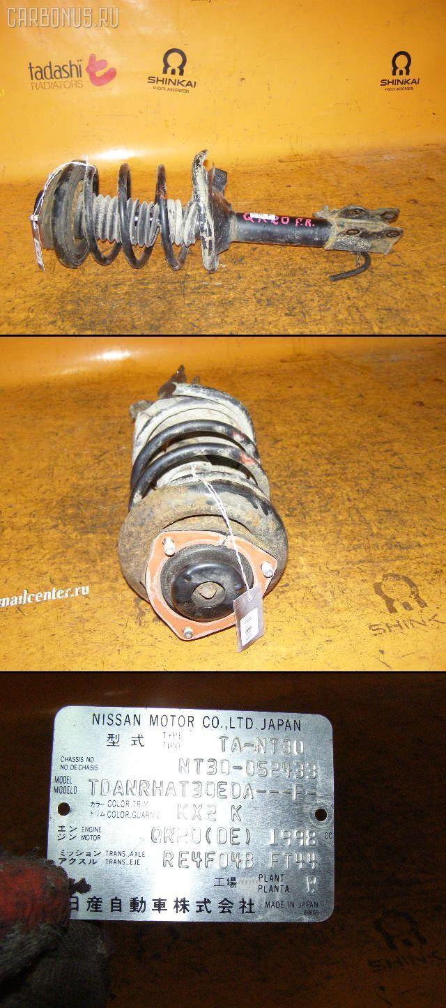 Стойка NISSAN X-TRAIL NT30 QR20DE. Фото 3