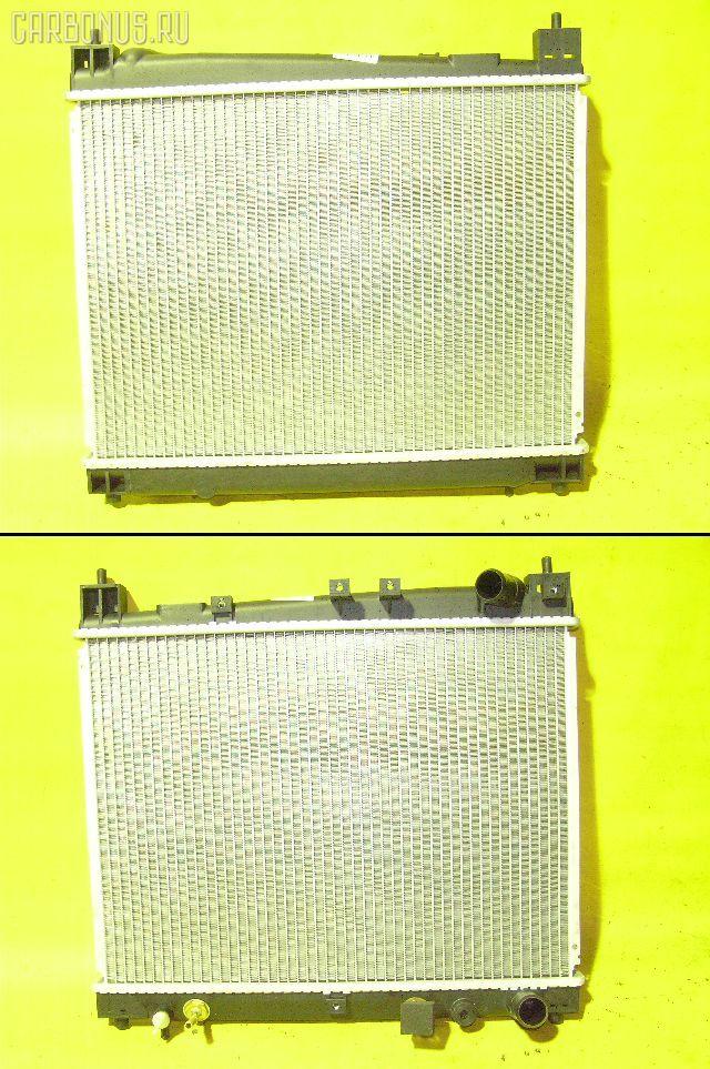 Радиатор ДВС TOYOTA PLATZ NCP12 1NZ-FE. Фото 11