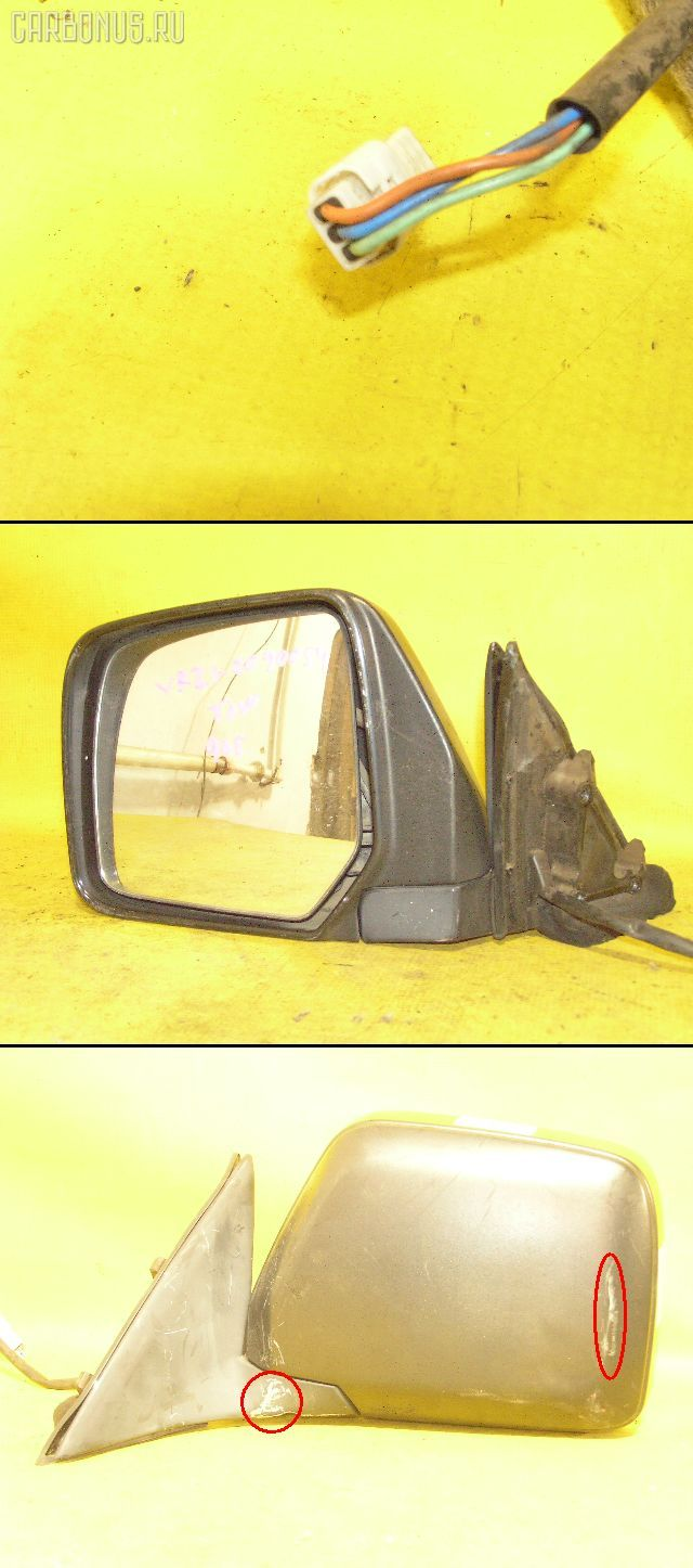 Зеркало двери боковой TOYOTA TOWN ACE YR21G. Фото 3