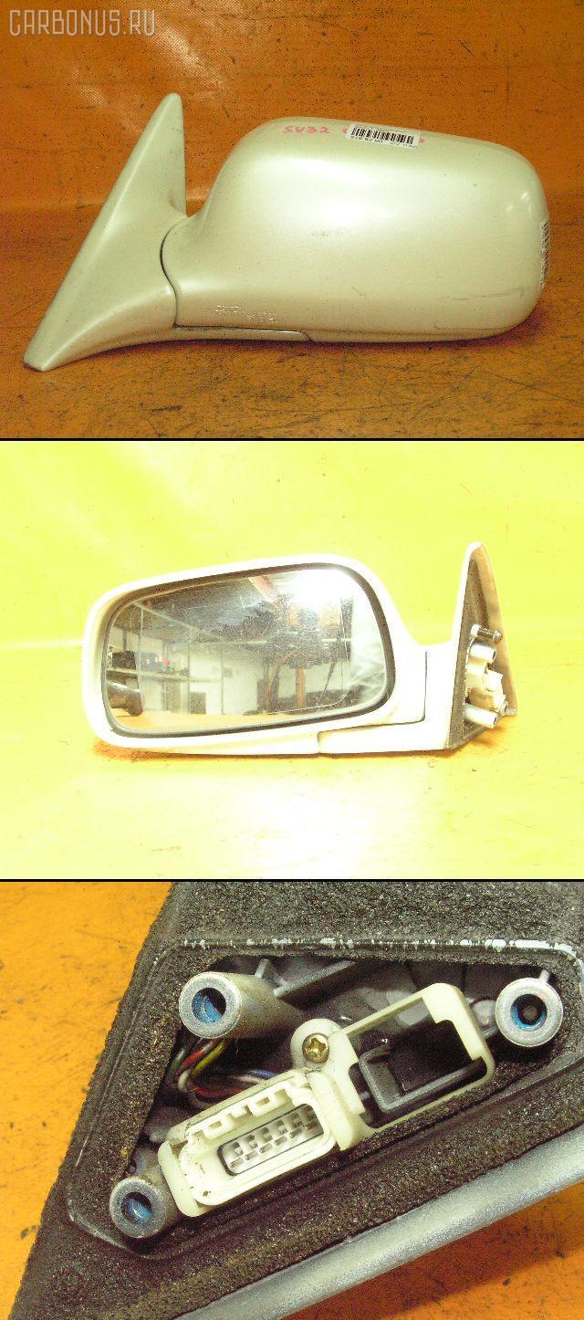 Зеркало двери боковой TOYOTA VISTA SV32. Фото 3