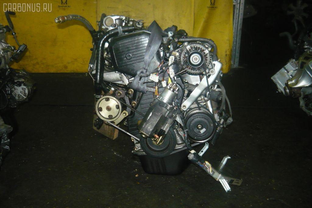 Двигатель TOYOTA SV40 4S-FE. Фото 3