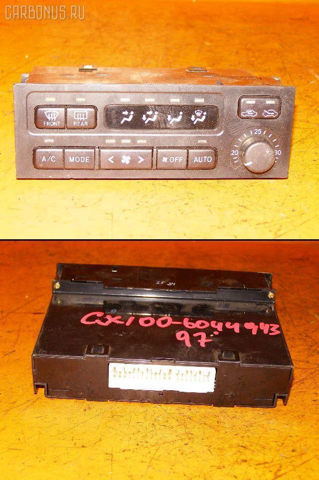 Блок управления климатконтроля TOYOTA CHASER GX100 1G-FE. Фото 11
