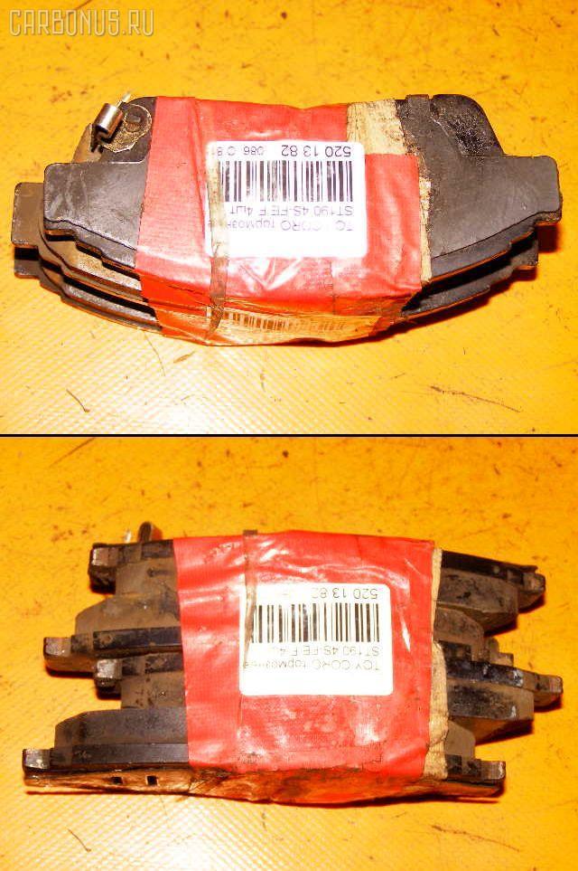 Тормозные колодки TOYOTA CORONA ST190 4S-FE. Фото 9