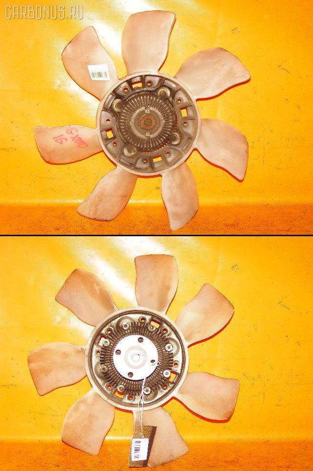 Вискомуфта TOYOTA CHASER GX100 1G-FE. Фото 7