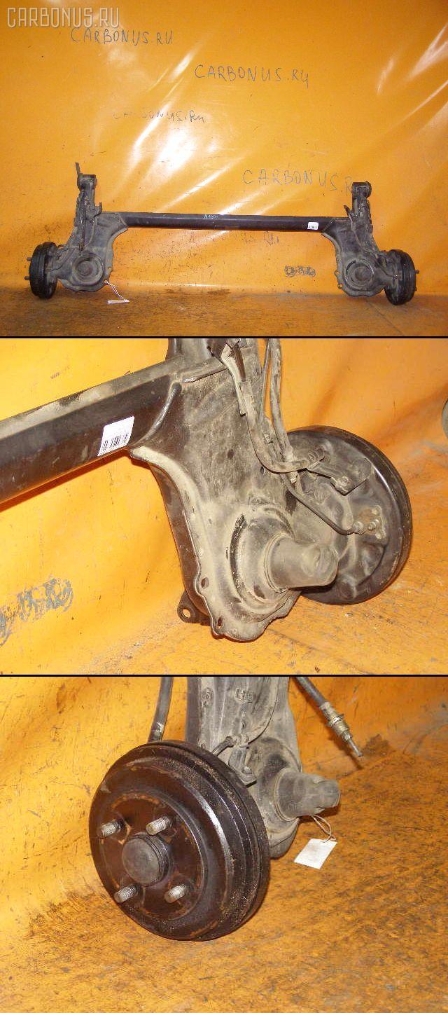 Балка подвески TOYOTA DUET M100A EJ-DE. Фото 5
