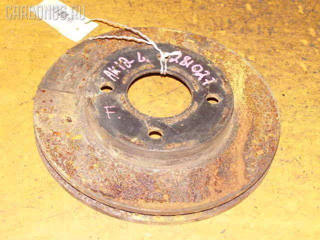 Тормозной диск NISSAN MARCH AK12. Фото 2