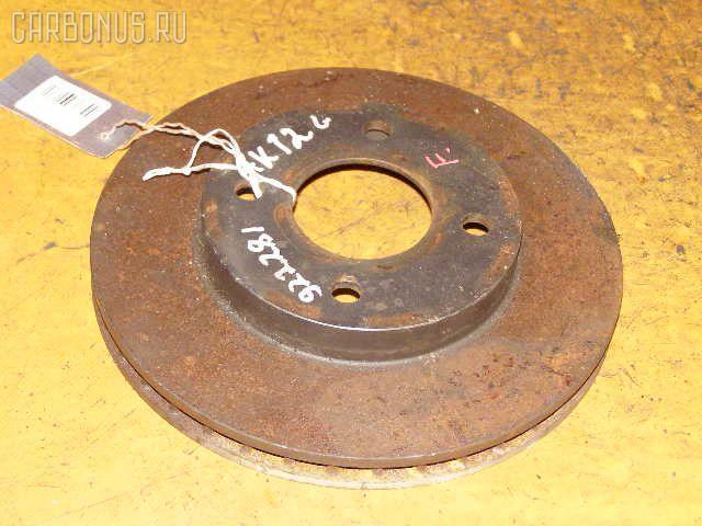 Тормозной диск NISSAN MARCH AK12. Фото 3