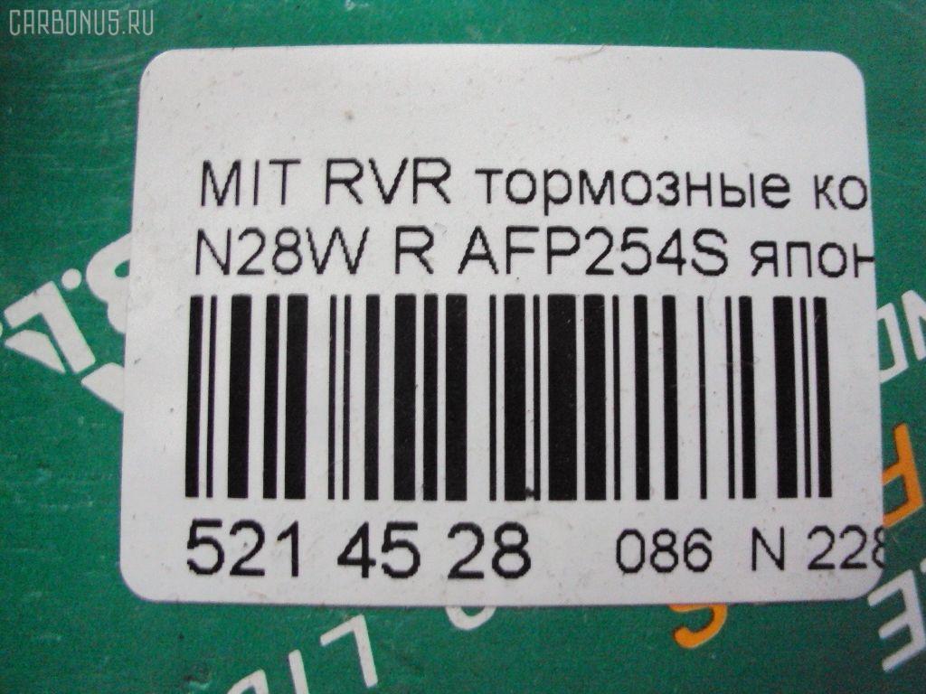 Тормозные колодки MITSUBISHI RVR N28W Фото 2