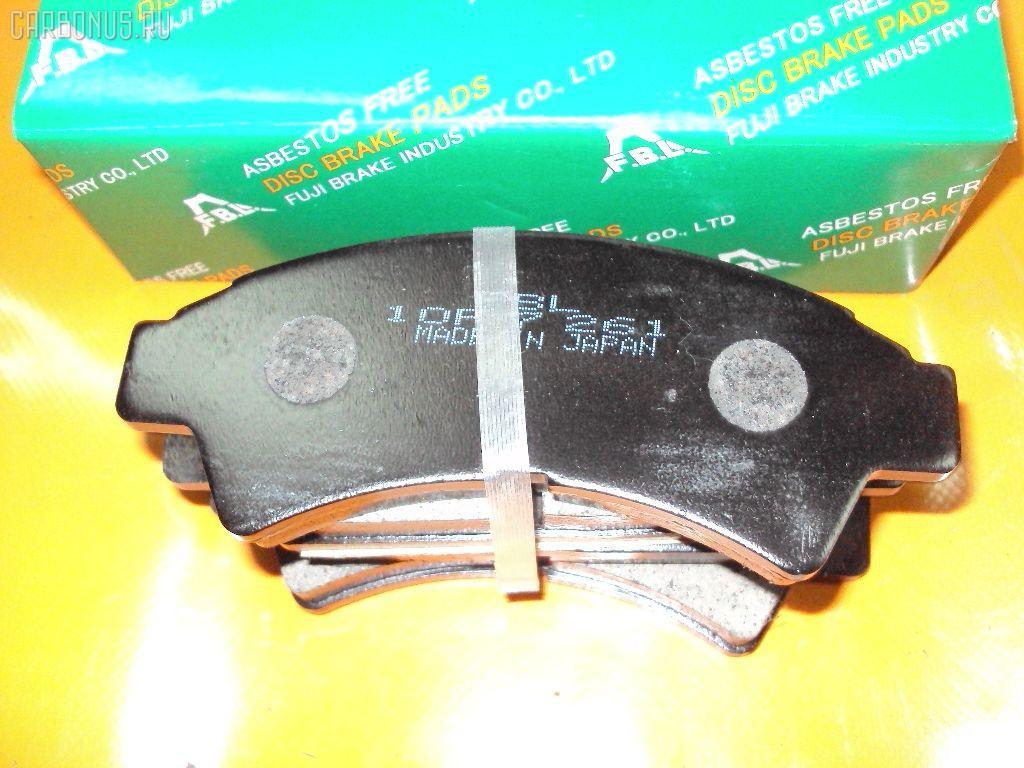 Тормозные колодки TOYOTA VISTA SV32 3S-FE. Фото 8