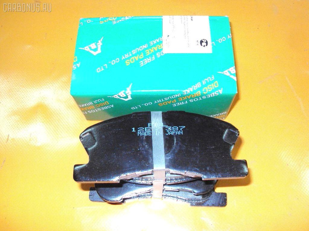 Тормозные колодки TOYOTA DUET M100A. Фото 3