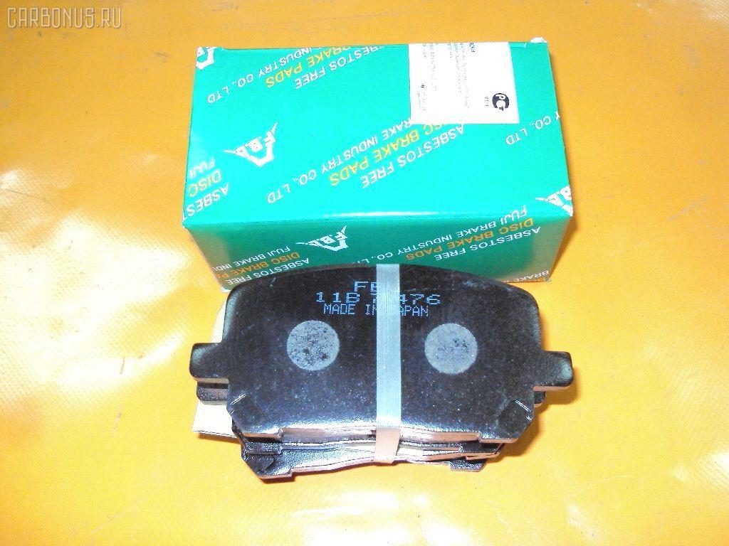Тормозные колодки TOYOTA IPSUM ACM21. Фото 8