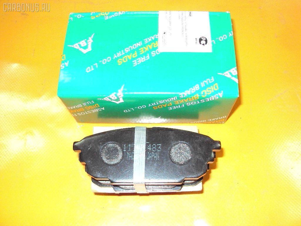 Тормозные колодки MAZDA CAPELLA GF8P Фото 1