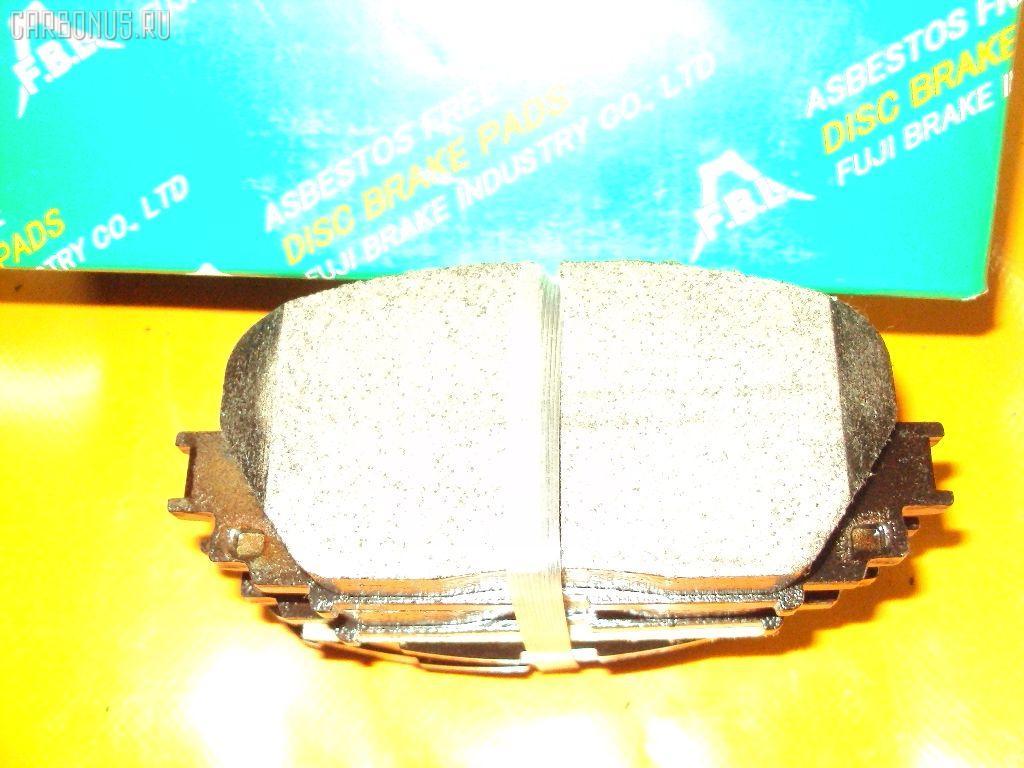 Тормозные колодки TOYOTA RACTIS NCP100. Фото 1