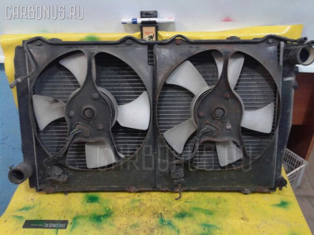 Радиатор ДВС SUBARU IMPREZA GC8 EJ20T. Фото 2
