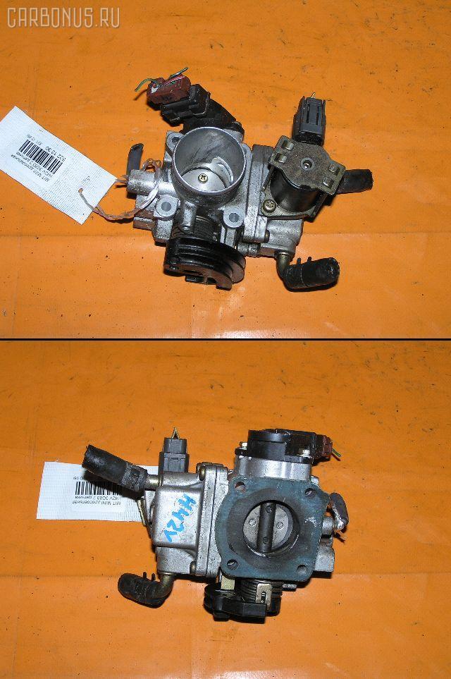 Дроссельная заслонка MITSUBISHI MINICA H42V 3G83. Фото 3